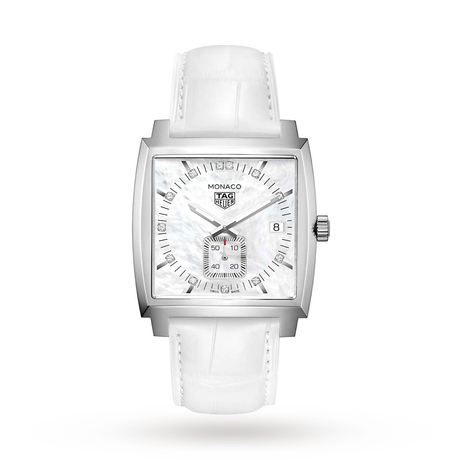 TAG Heuer Monaco 37mm Ladies Watch WAW131B.FC6247