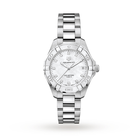 TAG Heuer Aquaracer 32mm Ladies Watch WBD1314.BA0740