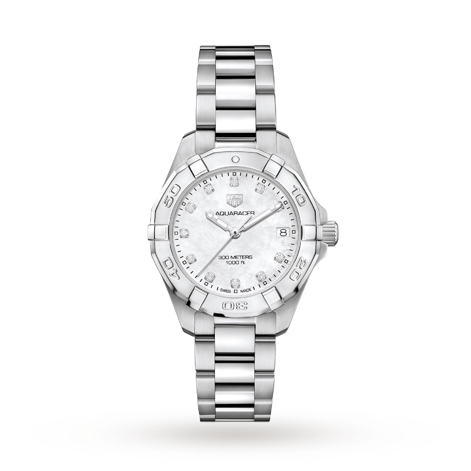 TAG Heuer Aquaracer Quartz Diamond 32mm Ladies Watch