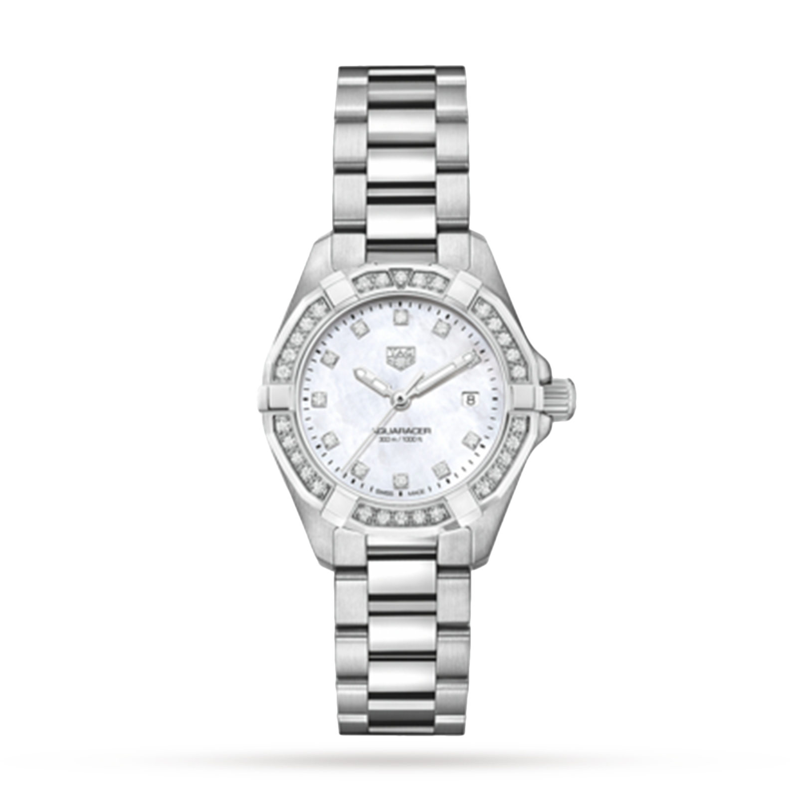 TAG Heuer Aquaracer 27mm Diamond Ladies Watch