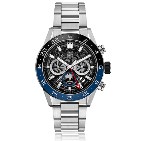 TAG Heuer Carrera 45mm Mens Watch CBG2A1Z.BA0658