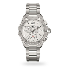 TAG Heuer Aquaracer Silver Dial Chronograph Mens Watch