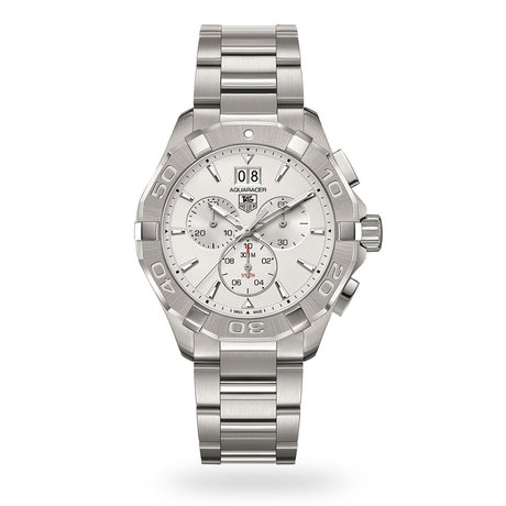 TAG Heuer Aquaracer Silver Dial Chronograph Men's Watch
