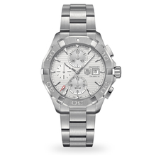 TAG Heuer Aquaracer White Dial Chronograph Men's Watch