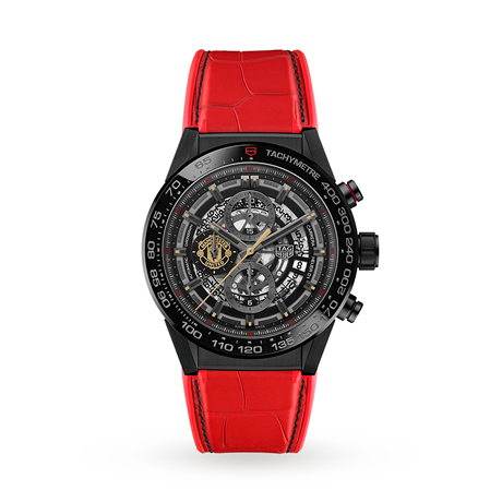 TAG Heuer Carrera Calibre Heuer 01 Black Skeleton Limited Edition Watch