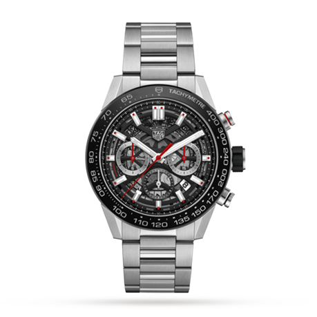 TAG Heuer Carrera Calibre 02 45mm Mens Watch CBG2A10.BA0654