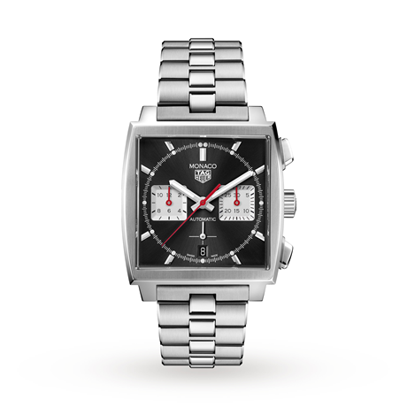TAG Heuer Monaco Calibre Heuer 02 39mm Mens Watch CBL2113.BA0644