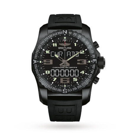 Breitling Cockpit Nightmission Mens Watch