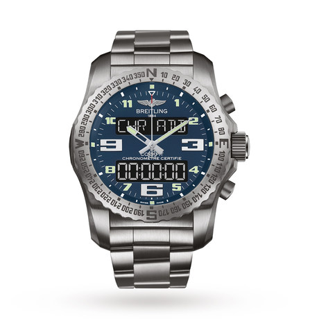 Breitling Cockpit B50 Titanium Mens Watch EB501019/C904176E