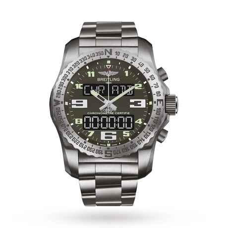 Breitling Cockpit B50 Titanium Mens Watch EB5010B1/M532176E