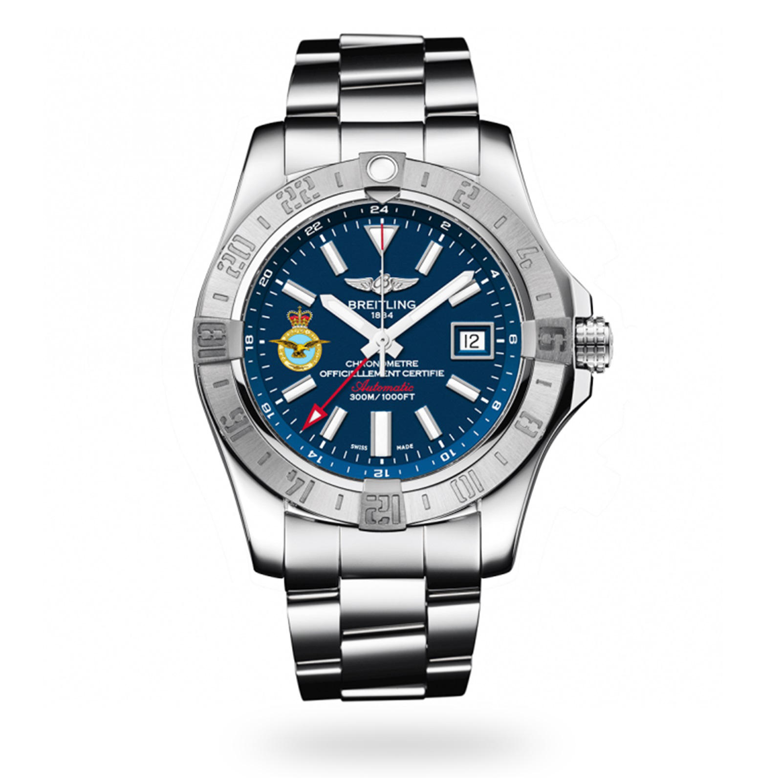 Breitling Avenger II GMT RAF100 Limited Edition A323905A/C981 170A