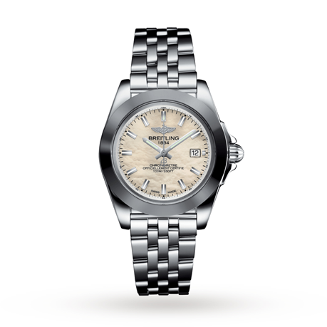 Breitling Galactic 32 Sleek Steel Ladies Watch