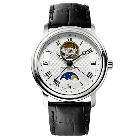 Frederique Constant Classic Moonphase 40mm Mens Watch FC-335MC4P6