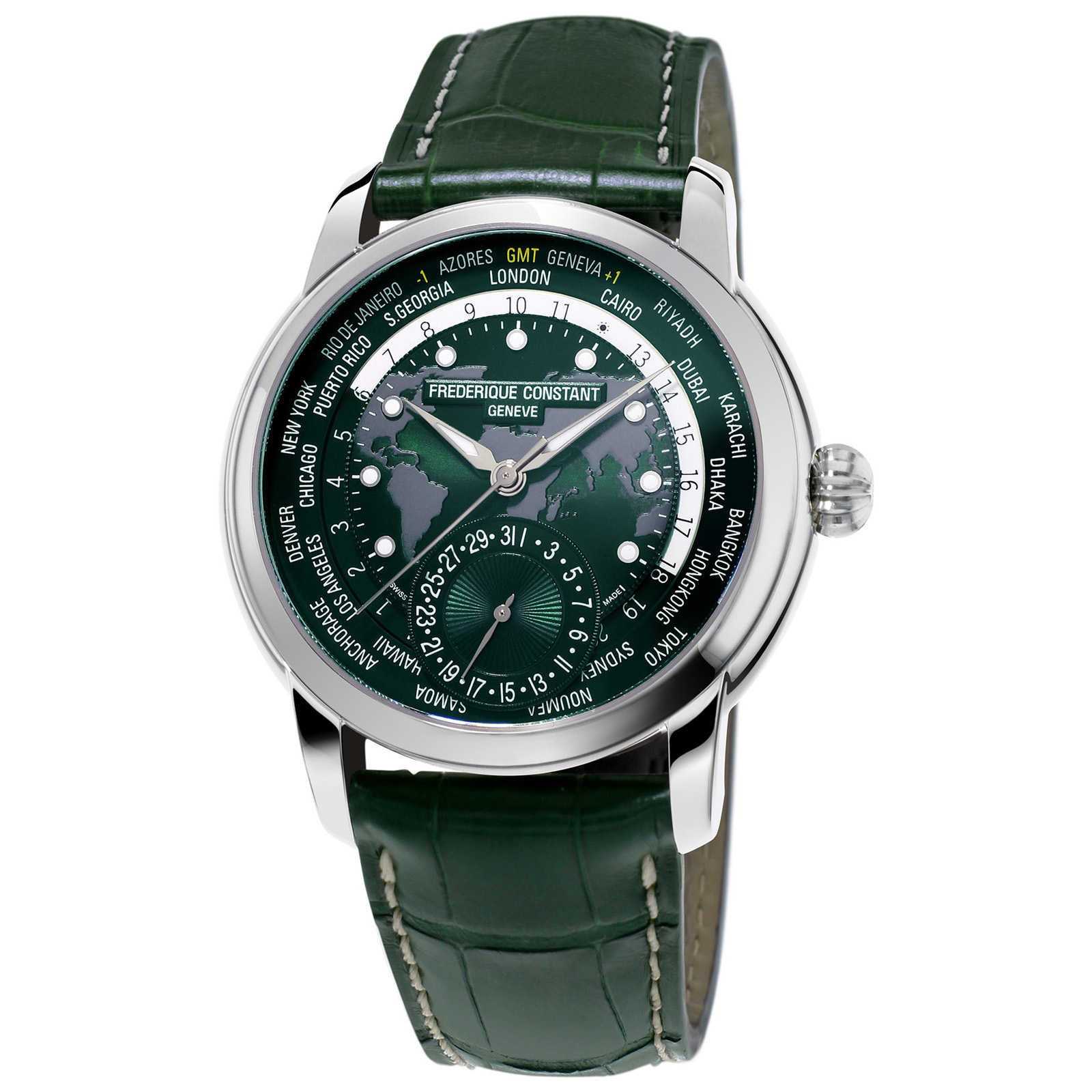 Frederique Constant Worldtimer Limited Edition Mens Watch