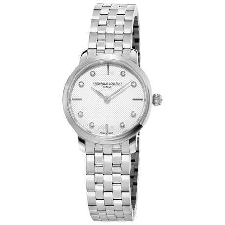 Frederique Constant Slimline 25mm Ladies Watch FC-200STDS6B