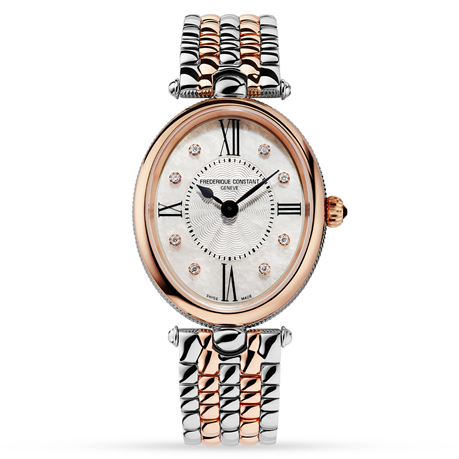 Frederique Constant Art Deco 25mm Ladies Watch FC-200RMPW2V2B