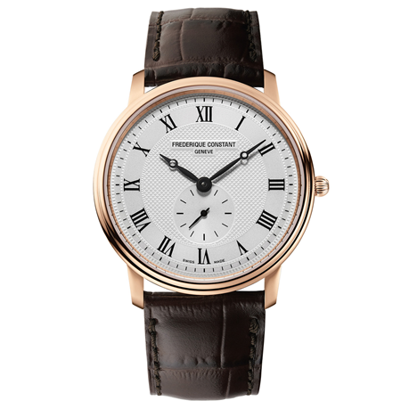 Frederique Constant Slimline 37mm Mens Watch FC-235M4S4