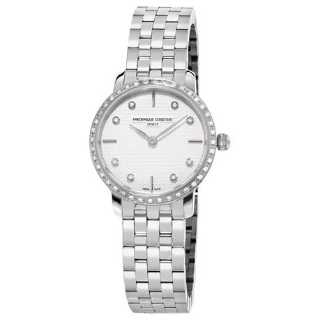 Frederique Constant Slimline 25mm Ladies Watch FC-200STDSD6B
