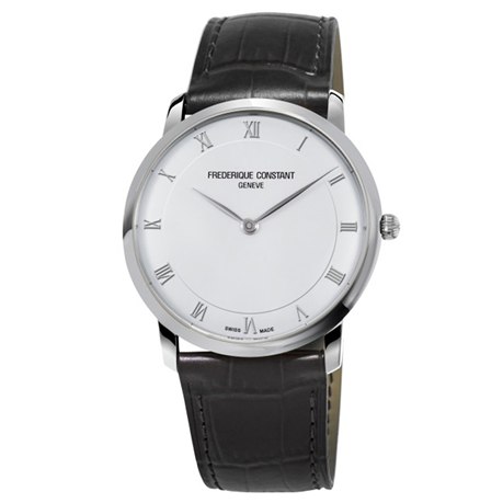 Frederique Constant Slimline 38mm Mens Watch FC-200RS5S36