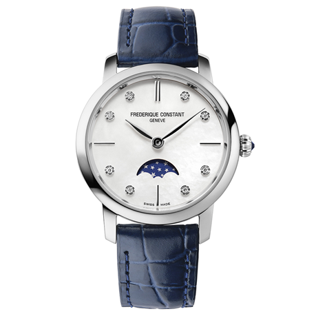Frederique Constant Slimline 30mm Ladies Watch FC-206MPWD1S6.