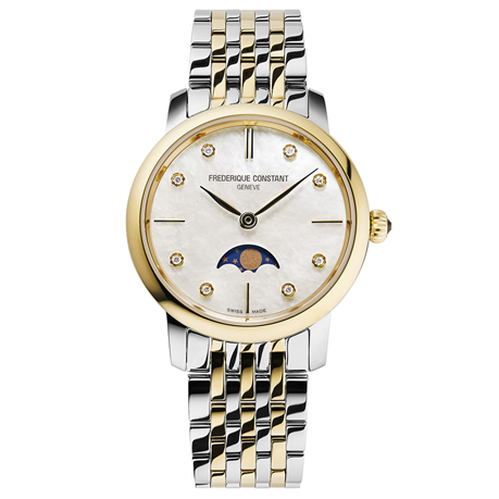 Frederique Constant Slimline 30mm Ladies Watch FC-206MPWD1S3B