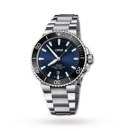 Oris Aquis 43mm Mens Watch  01 733 7730 4135-07 8 24 05PEB