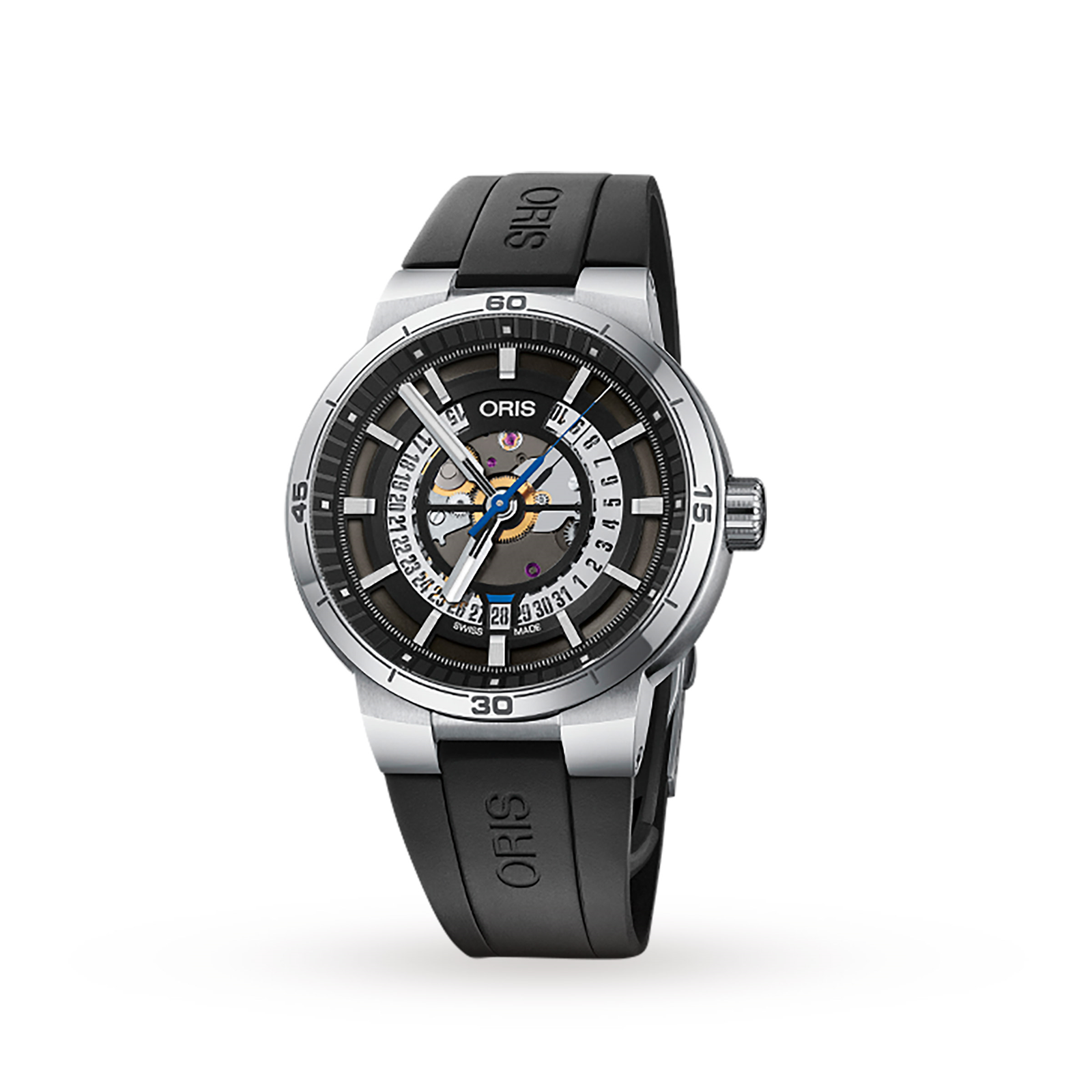 Oris TT1 Engine Date Automatic Mens Watch