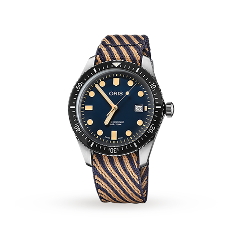 Oris Divers Heritage 1965 Mens Automatic Watch (For A Cleaner World)