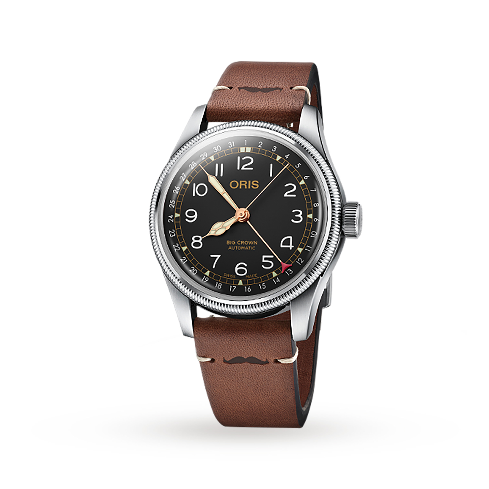 Oris Aviation Big Crown Automatic Mens Watch Movember Edition 2018