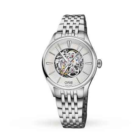 Oris Artelier Skeleton Ladies Watch