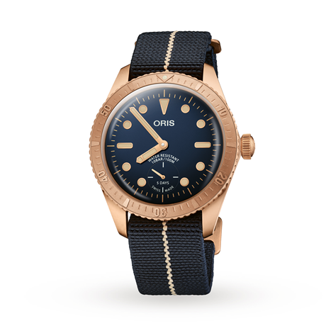 Oris Carl Brashear Calibre 401 Limited Edition - Exclusive 01 401 7764 3185-SET