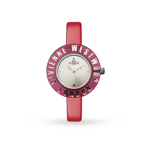 Vivienne Westwood Red Clarity Watch