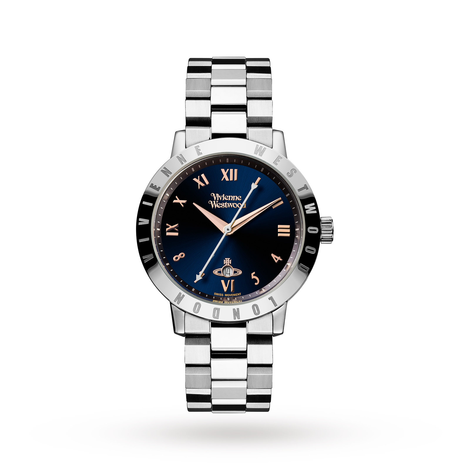 Vivienne Westwood Ladies Bloomsbury Blue Watch