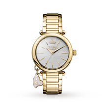 Vivienne Westwood Gold Tone Heart Ladies Watch