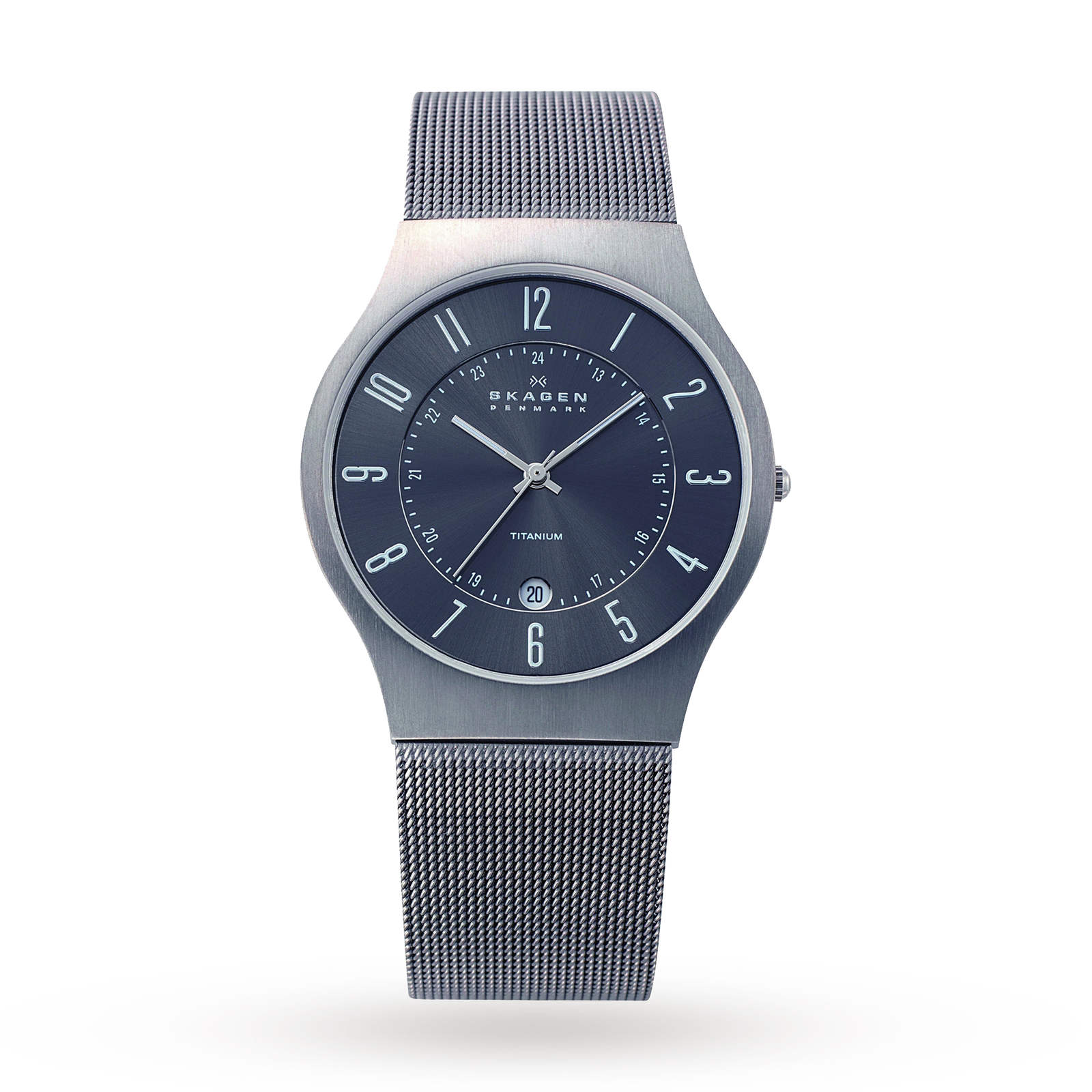f570417434 Skagen Mens Grenen Titanium Watch | Mens Watches | Watches | Goldsmiths
