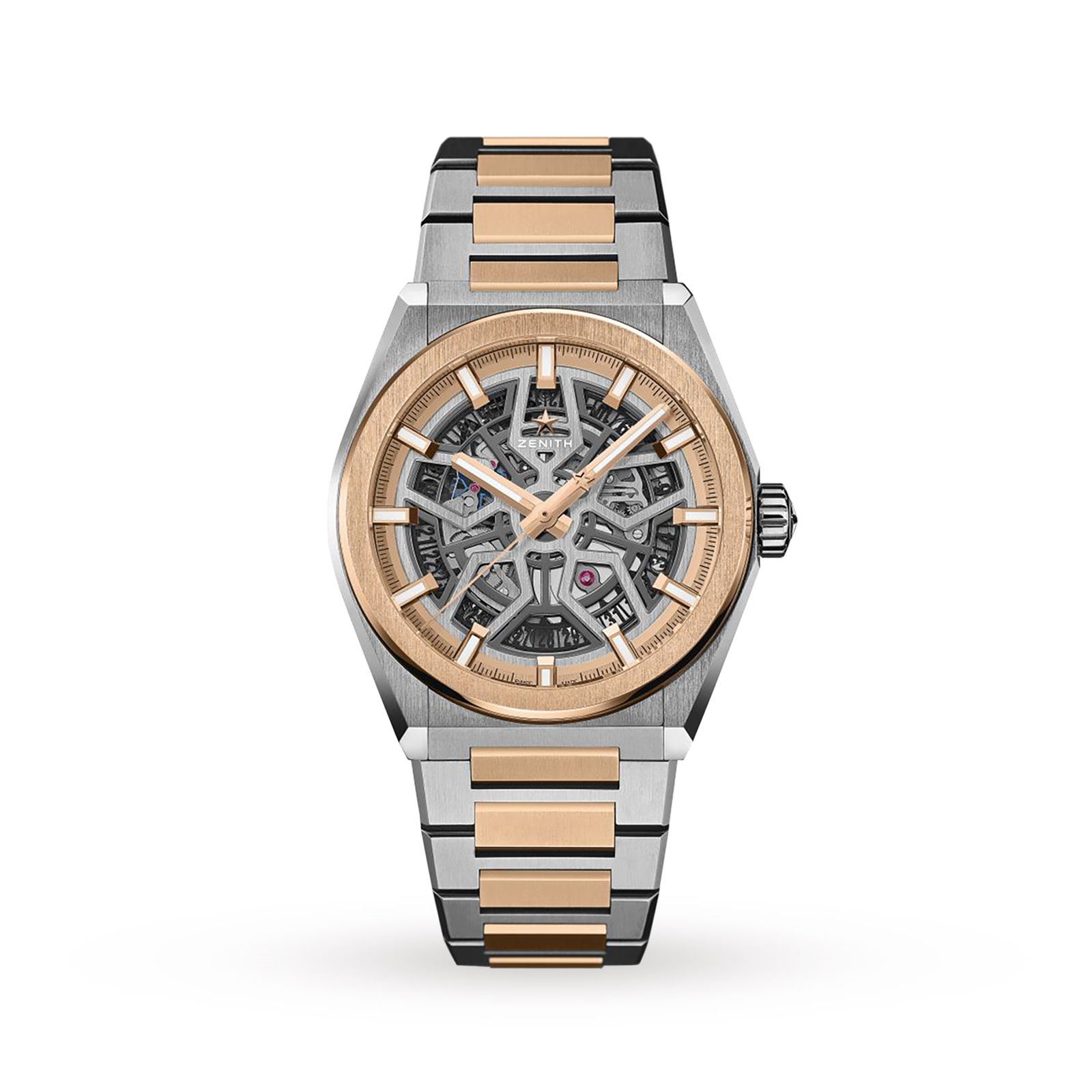 Zenith Defy Classic Titanium and Rose Gold 41 mm
