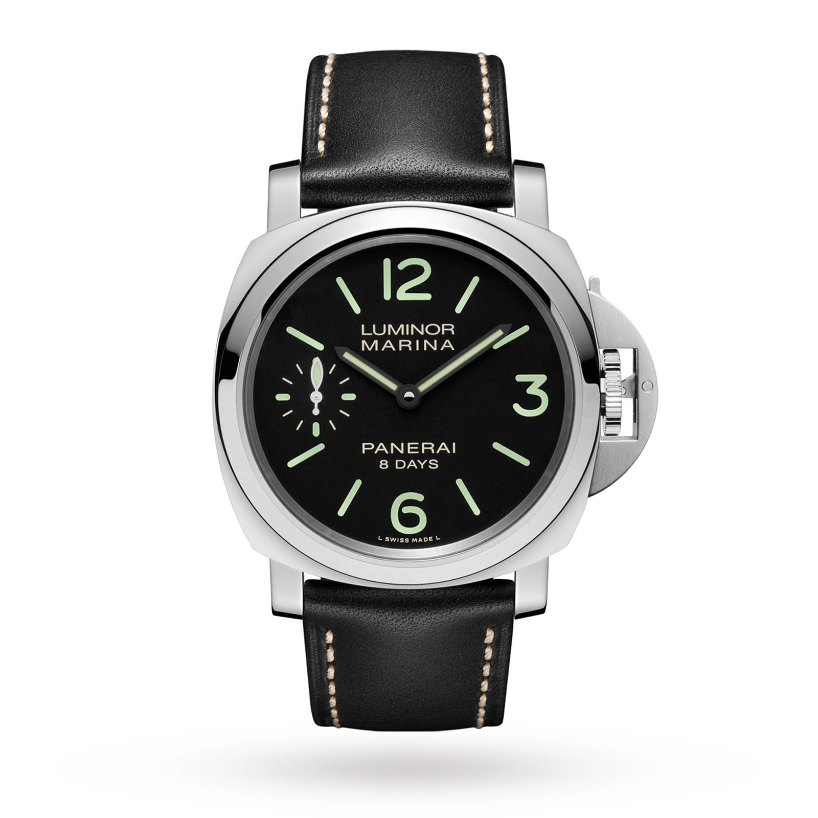 men s panerai watches officine white luminor watch image acciaio mens dial base logo