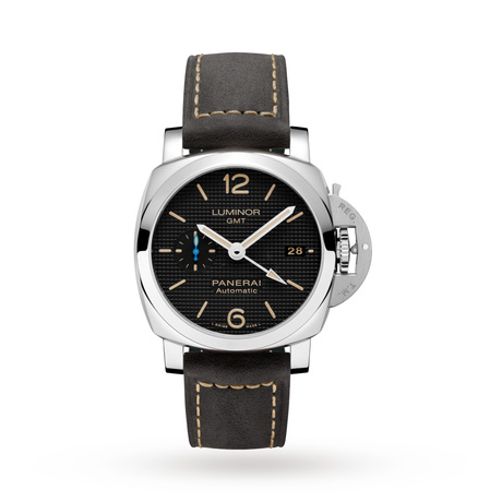 1b73fa7d04e Officine Panerai Luminor 1950 3 Days GMT Automatic Acciaio