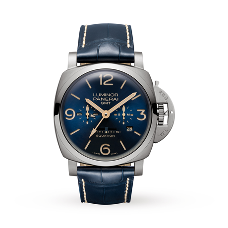 Panerai Luminor 1950 Equation Of Time 8 Days GMT Mens Watch