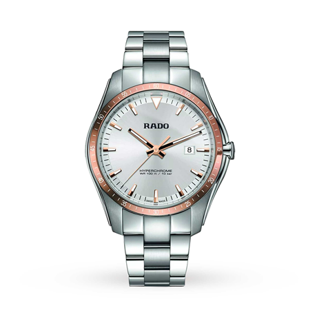 Rado HyperChrome Rose Bezel Mens Watch R32502103