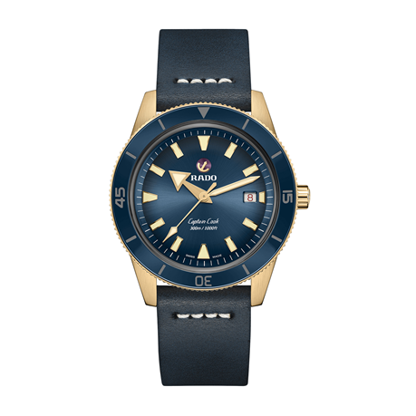 Rado Captain Cook Automatic Bronze Mens Watch R32504205 - Exclusive