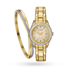 Citizen Eco-Drive Ladies Gift Set - Exclusive