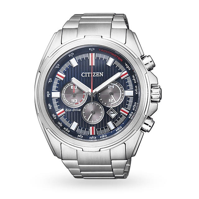 Mens Citizen SportsEco-Drive Watch