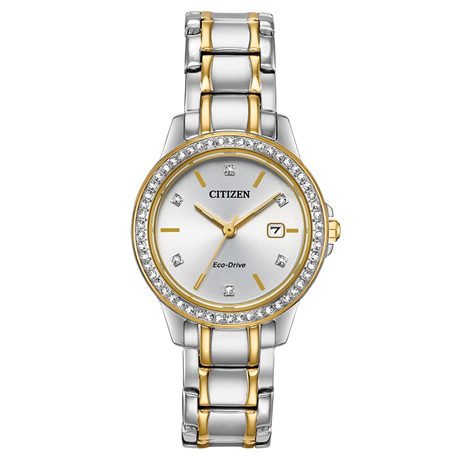 e317308eb Citizen Crystal Dot Echo-Drive Ladies watch
