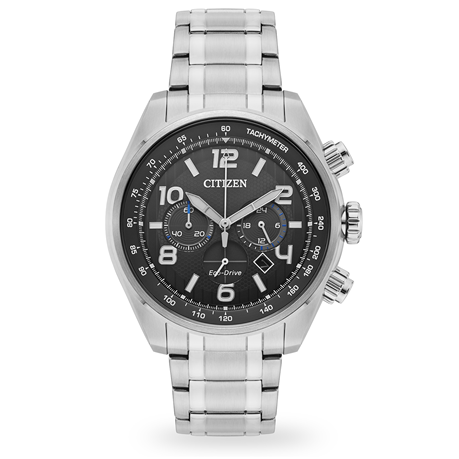 Citizen Eco-Drive Mens Chronograph Watch 45mm CA4330-57H