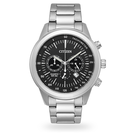 Citizen Mens Stainless Steel Bracelet Watch