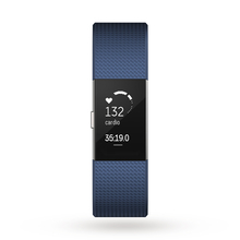 Fitbit Unisex Charge 2 Bluetooth Fitness Activity Tracker Watch