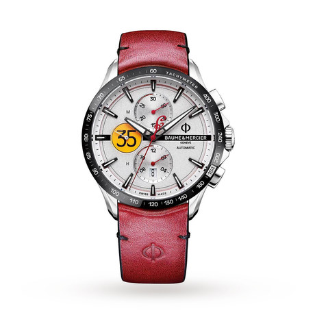 Baume & Mercier Clifton Club Burt Munro tribute