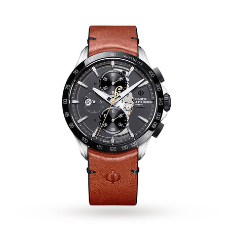Baume & Mercier Clifton Club Indian Motorcycles