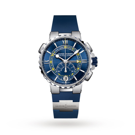 Ulysse Nardin Marine Chronograph Manufacture Regatta Men's Watch